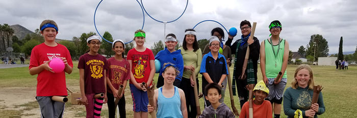Harry Potter Club Quidditch Match